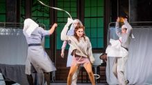 Ariadne auf Naxos, opera review: Ingenious staging mixes comedy with the mythic