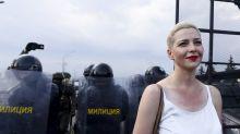 Arrestata al confine, l'Europa reclama la liberazione di Maria Kolesnikova