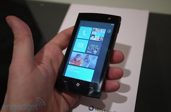 Windows Phone 7 Series hands-on and impressions (updated with video)