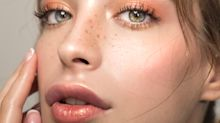 The 5-second makeup trick to make fake freckles look real