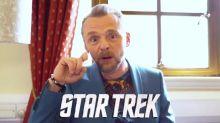 A Trekkie or a Warsie? Simon Pegg is put to the test with this Star Wars vs Star Trek quiz