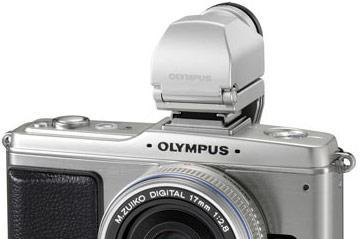 Olympus dishes silver PEN E-P2 Micro Four Thirds camera