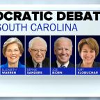 Poll: Joe Biden enters South Carolina debate with a slim lead over frontrunner Bernie Sanders