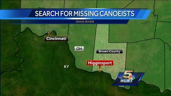 As search expands to 100 miles, family of missing canoeists asks for help