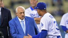Tommy Lasorda celebrated Dodgers division title on his 90th birthday