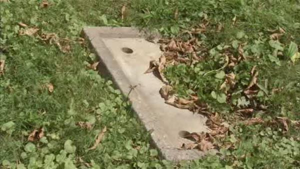 Grave markers missing from North Philadelphia cemetery
