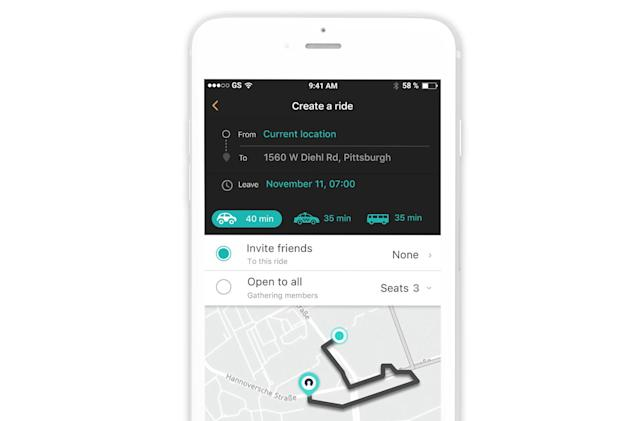 Here's ride-hailing app focuses on shared rides