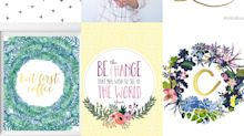 Inspirational free prints to brighten your workspace