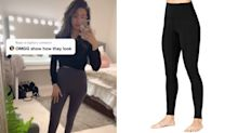 'Dupe alert': These viral TikTok leggings are an affordable Lululemon alternative, and they start at just $16