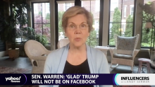 Facebook board's Trump decision shows Big Tech is 'way too powerful': Elizabeth Warren