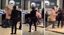 Enraged customer smashes up Chanel in front of shocked bystanders