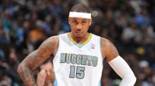 Denver leaves Carmelo Anthony off all-time team graphic, Portland fires back