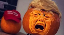 Want A Pumpkin Carving Idea To Encompass 2020? These 'Trumpkins' Are On Brand