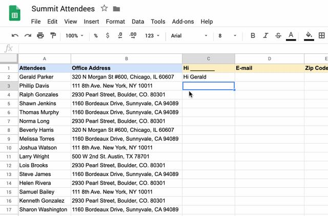 Google Sheets will soon suggest formulas as you type