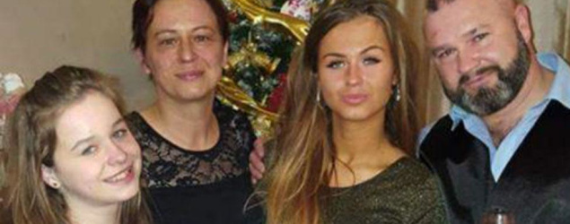 Sisters lose dad day before mum