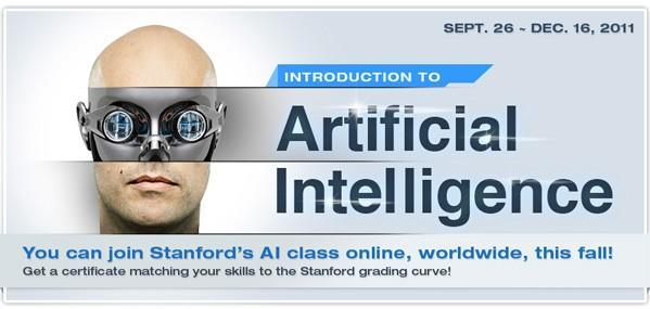 Stanford schooling unwashed masses with free online Intro to Artificial Intelligence (video)