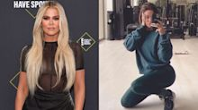 Khloé Kardashian hits the gym in a $116 Good American sweatshirt —and draws comparisons to sister Kendall