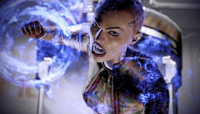 Mass Effect character Jack.