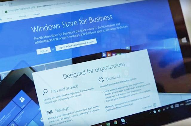 Microsoft's Windows Store for Business now sells apps in bulk