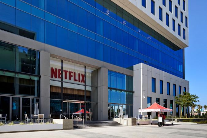 Netflix LA HQ external