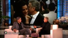 George Clooney Tells Ellen About His Awkward Marriage Proposal To Amal