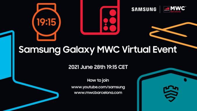 Samsung Galaxy MWC event invitation