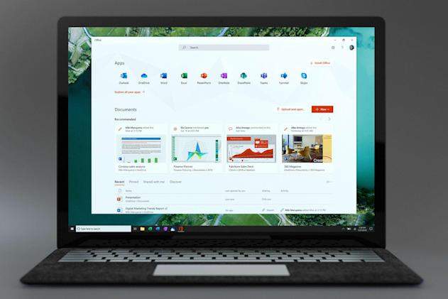 Microsoft Office app for Windows 10 provides a hub for all your work
