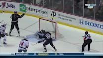 Perreault rips goal in front off turnover