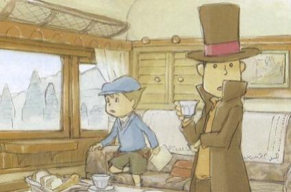Already, a second round with Professor Layton