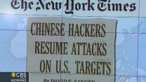 Headlines: Chinese resume hacking U.S. targets
