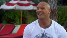 Dwayne Johnson calls presidential support 'flattering' and 'Baywatch' role 'daunting'