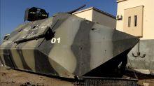 Un tank artisanal pour se débarrasser des djihadistes. La poudrière libyenne : menace aux portes de l'Europe dans Enquête Exclusive dimanche à 23:00 sur M6