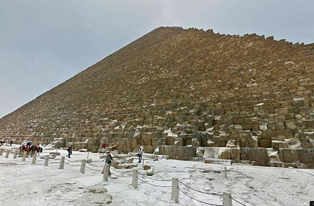 Stroll through Egypt's pyramids on Google Street View