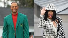 Cardi B might name her new album after Tiger Woods and Twitter is confused