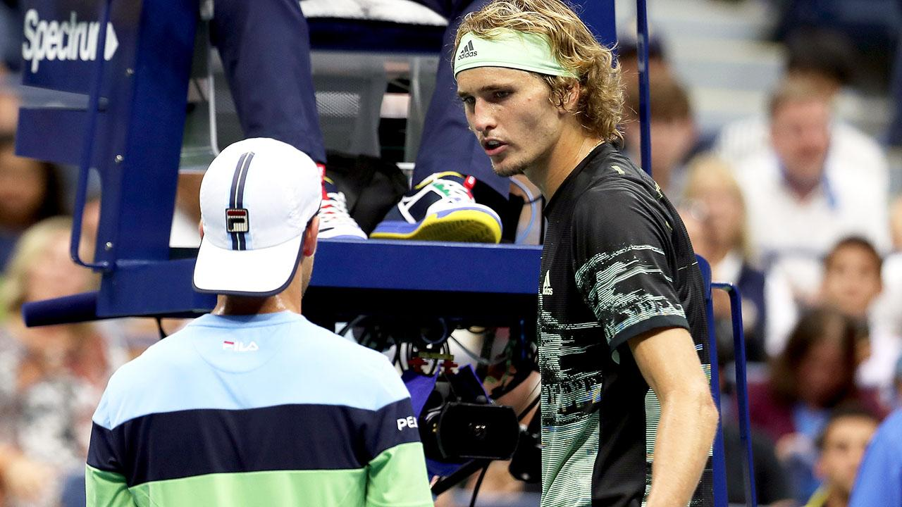 'F*** you': Alexander Zverev crashes out of US Open in ugly meltdown