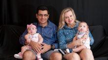 Após perder a esposa durante o parto de gêmeos, homem conta como conseguiu superar a tragédia