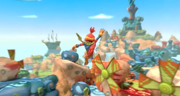 The Last Tinker: City of Colors glues together a world on PS4