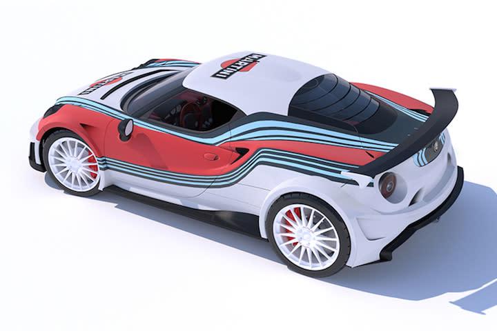 Alfa 4C Martini Photo