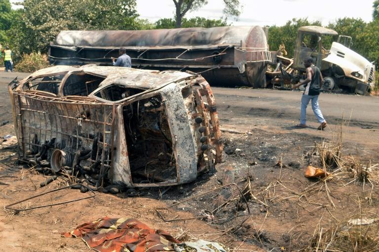 Image result for dead in tanzania fuel tank