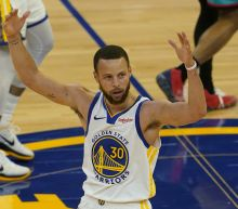 Curry is scoring champ, Warriors beat Grizzlies for 8 seed