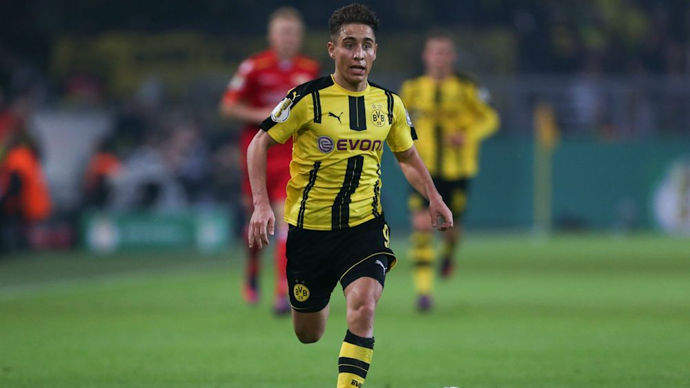 Dortmund teenager Mor dreaming of Madrid move