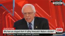 Why Bernie Sanders won't call Venezuela's Maduro a dictator