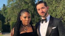 Serena Williams wore sneakers to the royal wedding reception