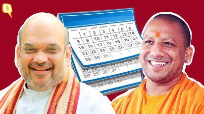 Amit Shah, Mohan Bhagwat: 'Saffronisation' of MP Police Calendar