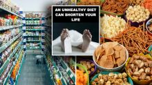 Call for graphic health warnings on junk food