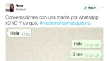 ¿Lo mejor de WhatsApp? Los mensajes de tu madre