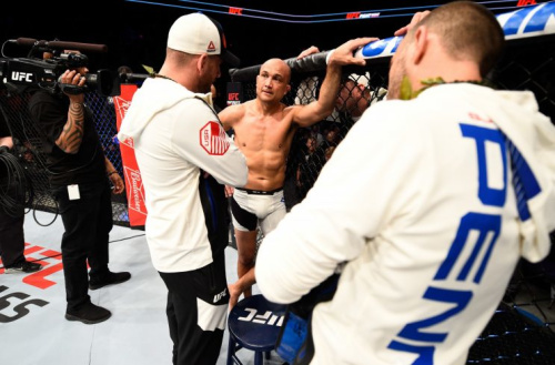 B.J. Penn has only won once in the last seven years and has suffered two straight knockout losses. (Getty)