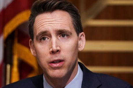 Josh Hawley issues counter-complaint against Democrats who called for investigation into him over Capitol insurrection