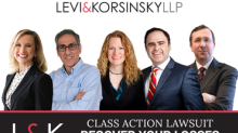 CLASS ACTION UPDATE for PTON, ATER and WPG: Levi & Korsinsky, LLP Reminds Investors of Class Actions on Behalf of Shareholders