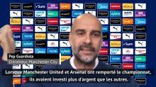 """Man City - Guardiola : """"Je ne gagne seulement si j'ai des bons joueurs"""""""